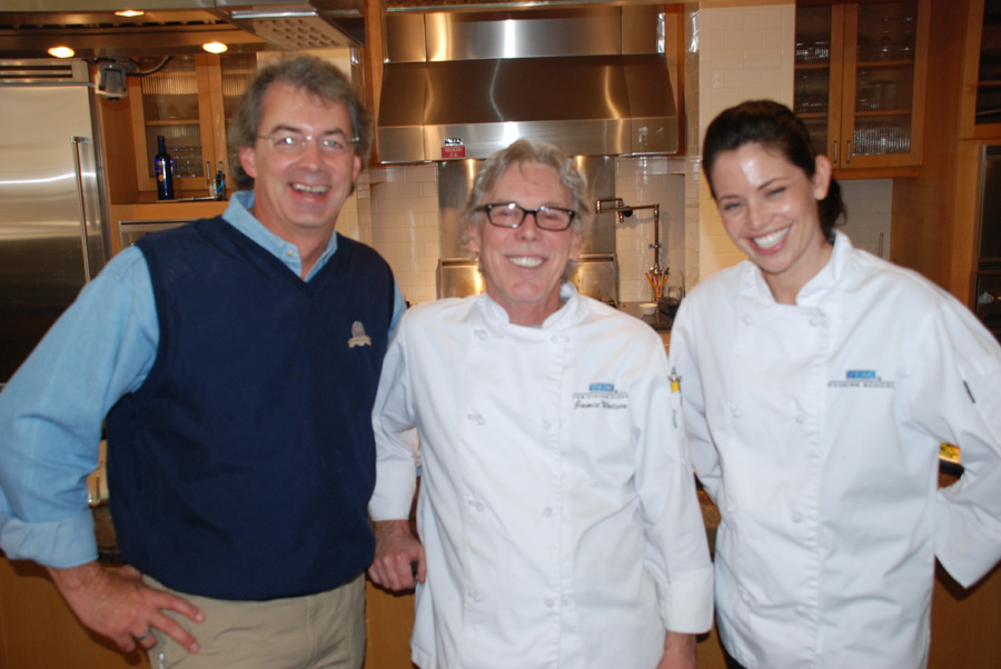 Paul Stanley, Chef Jamie Watson and Sous Chef Brooke Bridge