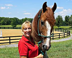 Kirby Dobb Floyd at Southern Reins Equine Therapy Farm